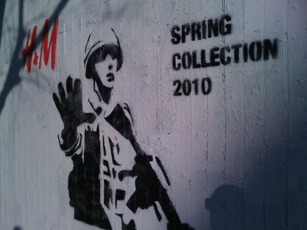 Graffiti: H&M spring collection 2010